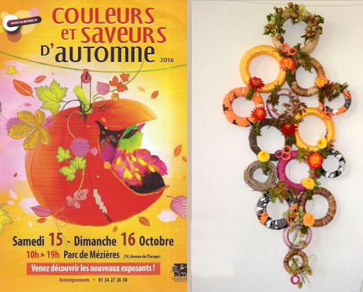"""Octobre 2016 : participation à """"Couleurs et Saveurs d'automne"""""""
