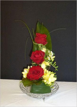 Roses en trio