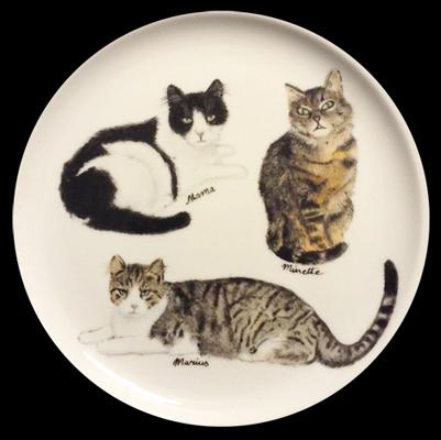 Assiette chats