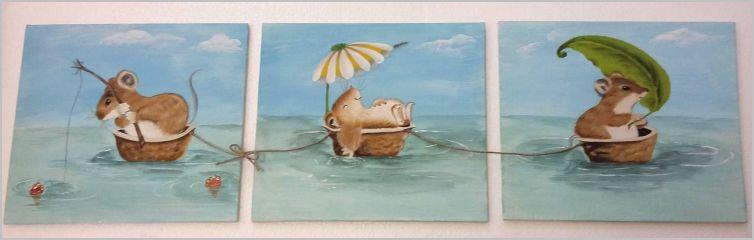 Flotille de souricettes