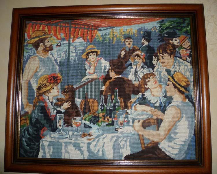 """""""Le déjeuner des canotiers"""" de Renoir"""