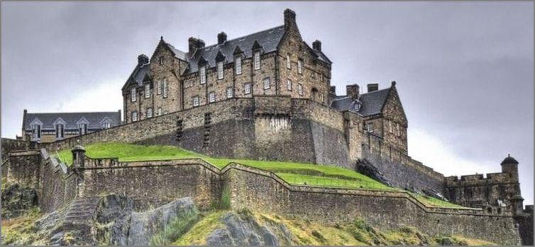Voyage 2017 avec Corinne : Chateau d'Edimbourg