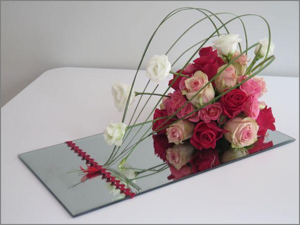Miroir de roses