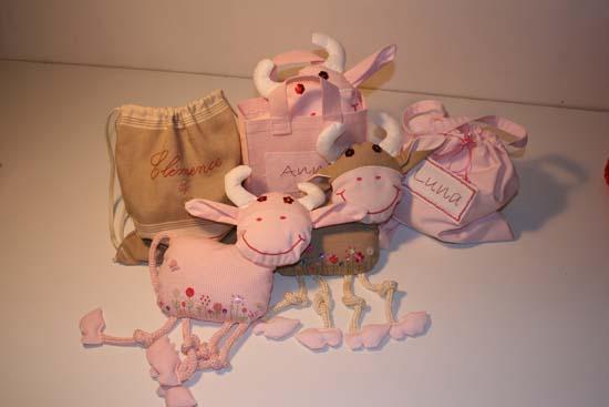 Petit trousseau de vache