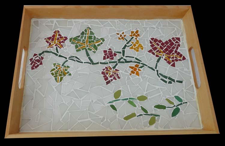Plateau feuilles