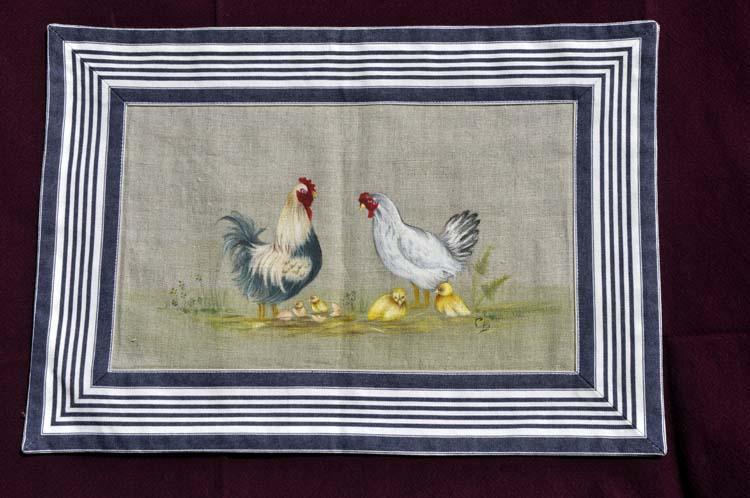 Set poules et coq
