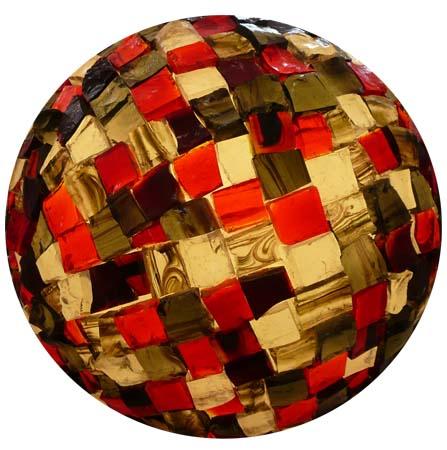Sphère éclairée