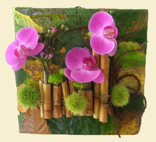 Art floral bis