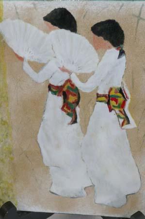 Danseuses japonaises