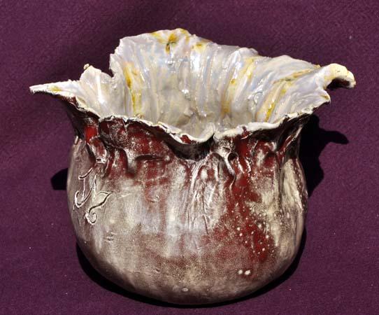 Vase émaillé