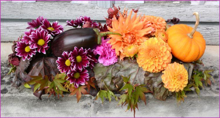 Octobre 2014 - -L'automne sur la cheminée