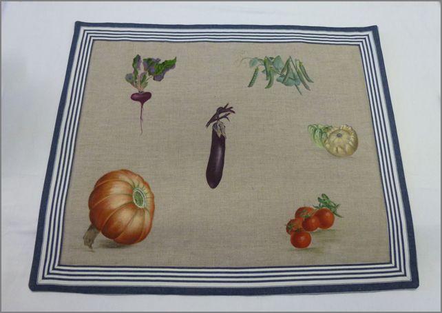 Dessus de plaque aux légumes