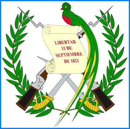 Armoiries du Guatemala