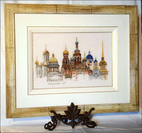 Saint Pétersbourg - Point compté sur 1 fil