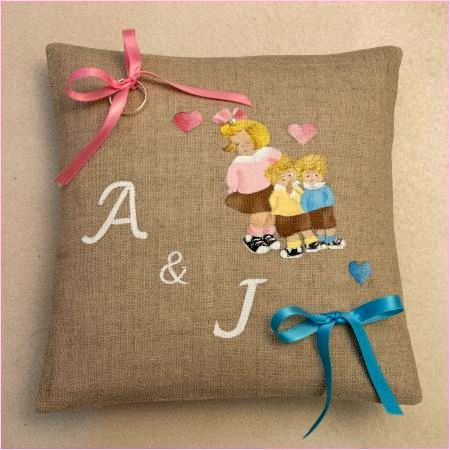 Coussin d'alliances ♥