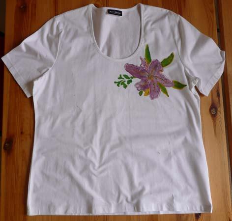 Création  sur t-shirt