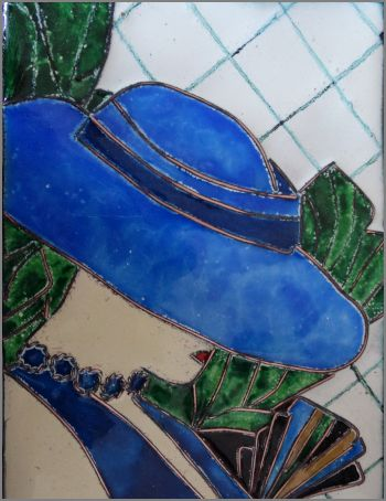 La Dame au chapeau bleu