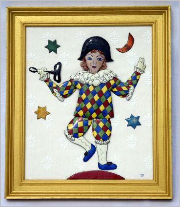 Arlequin jongleur