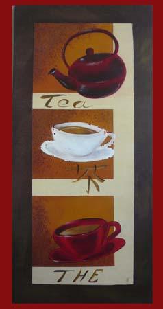 L'heure du thé en trompe l'oeil